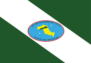 Bandeira do Município de Campo do Brito-SE