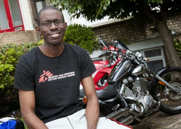 nigerian ride bike london nigeria