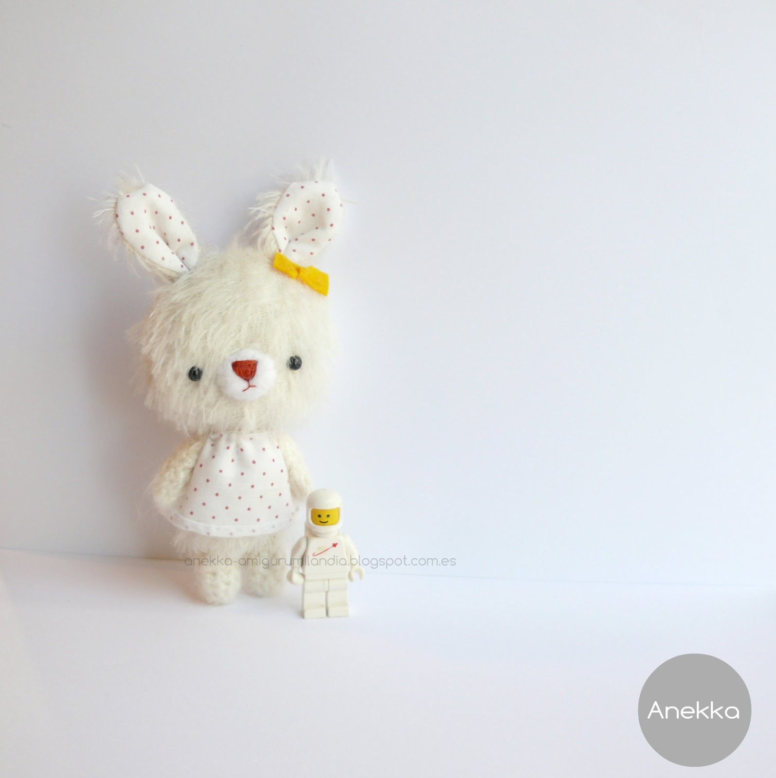 cute dress amigurumi mohair