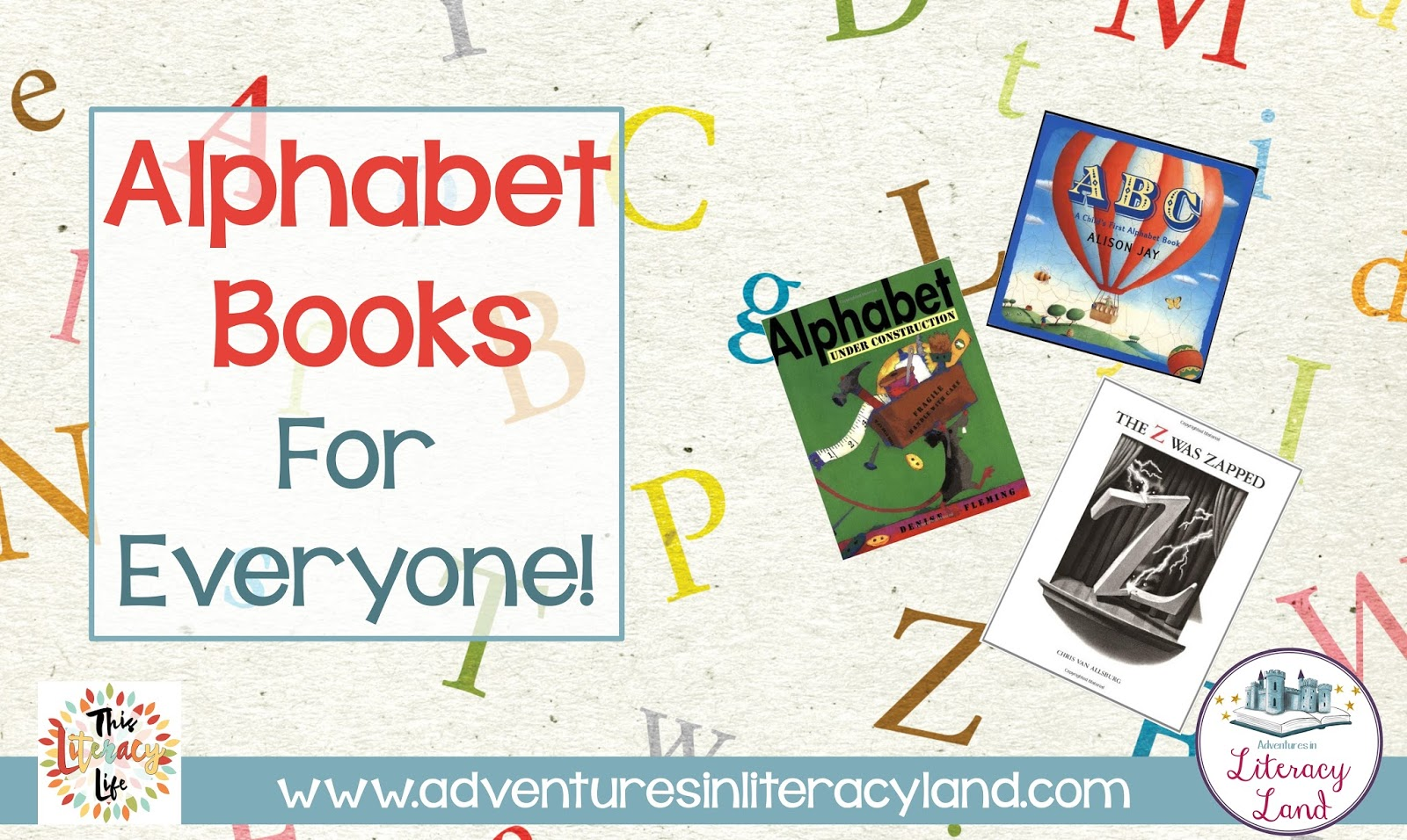 Alphabet books aren't just for the youngest readers. With so many choices, everyone can find one (or more) to enjoy!