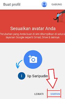 memasang photo profil google plus