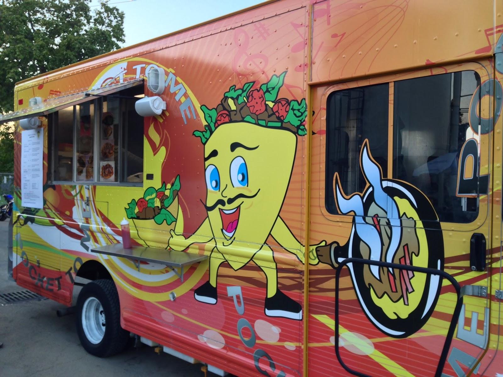 Pocket To Me Food Truck Houston