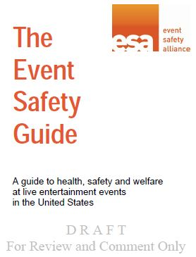 US Event Safety Guide Cover