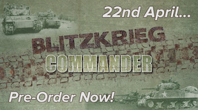 Blitzkrieg Commander III Available For Pre-Order from Pendraken Miniatures