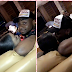 Davido makes out with strange woman with big booty in Ghana