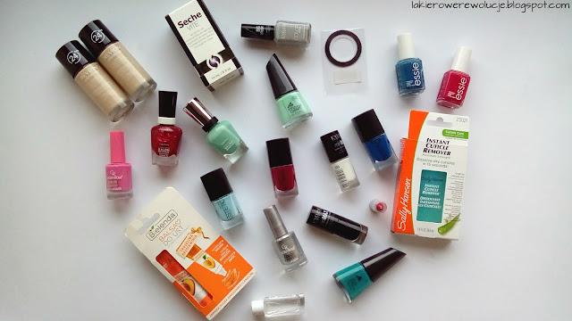 Lakierowe zakupy - Rossmann, Hebe, ezebra, Inglot, Outlet Kosmetyczny...