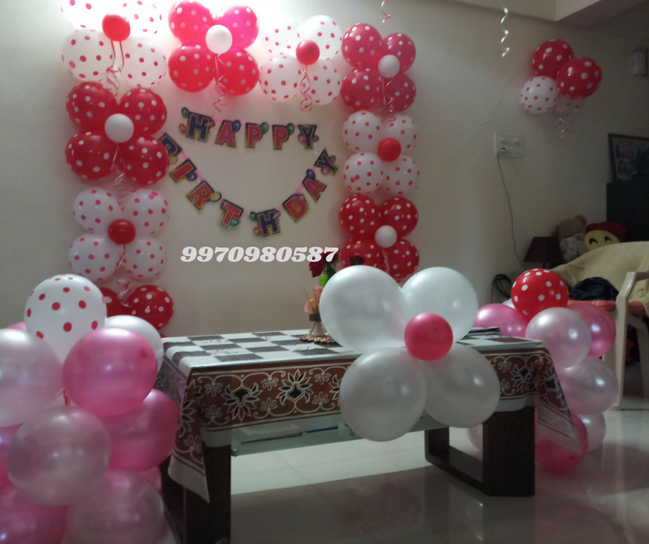 Best Birthday Party Planner - Birthday Decorator Balloon Decorators In Pune  Balloon Decoration  Helium Balloons Near Me-2479