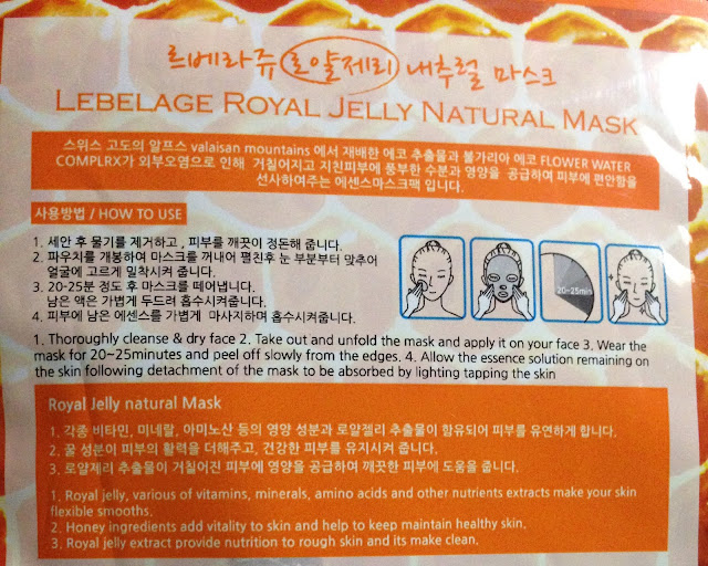 Lebelage Natural Sheet Masks Review
