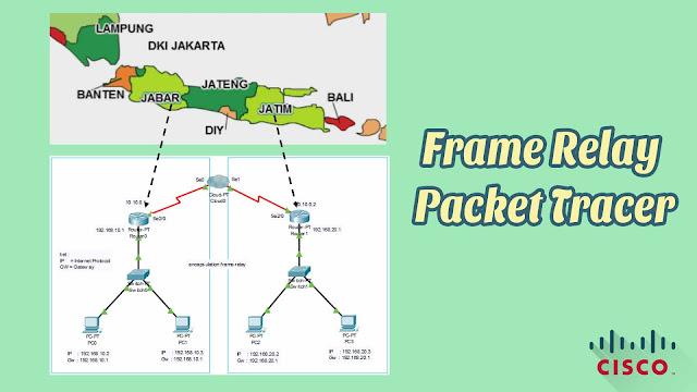 Frame Relay Network Menggunakan Software Cisco Packet Tracer
