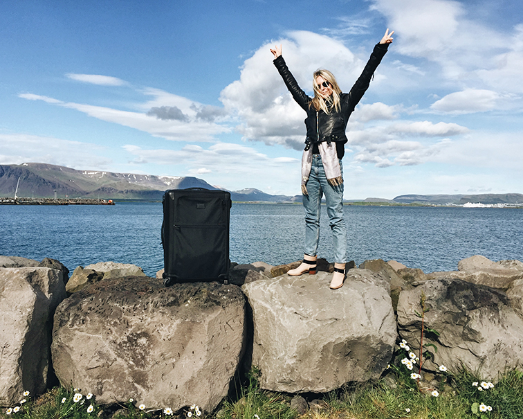 Tumi Alpha 2, how to pack a suitcase like a pro, Heleneisfor in Iceland, my stopover