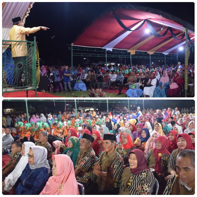 Supriansa Hadirkan Selfi di Acara Temu Alumni IKA SMP Muhammadiyah Leworeng