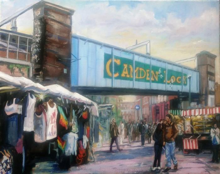 Британский художник. Mark Croucher
