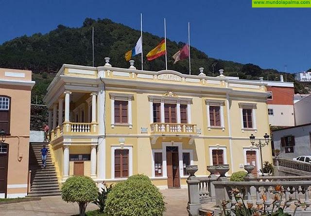 El Ayuntamiento de Villa de Mazo lucirá las banderas a media asta por las víctimas del COVID-19