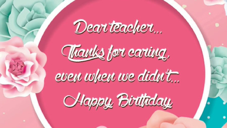 Happy Birthday Professor Wishes | Quotes | Messages and Images