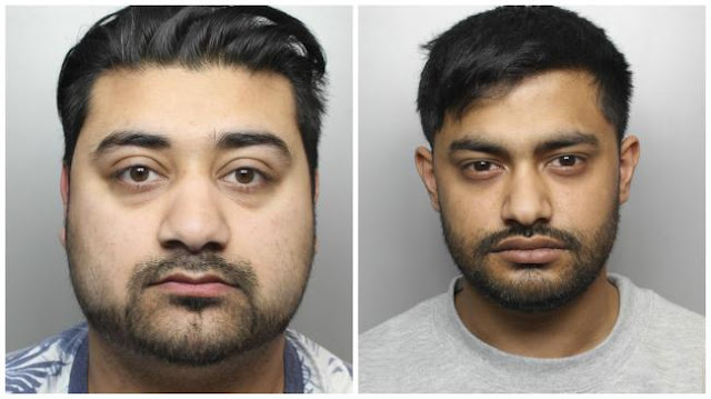 28 years' jail for men who raped girl, 13, in Bradford hotel room