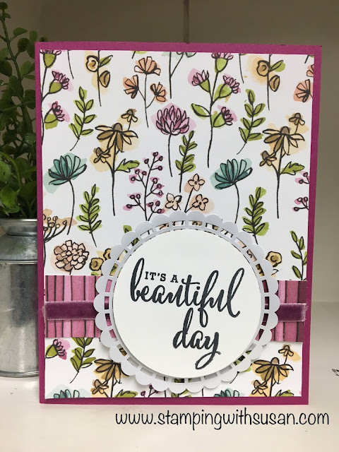 Stampin' Up!, Love What You Do, Pearlized Doillies, Share What You Love
