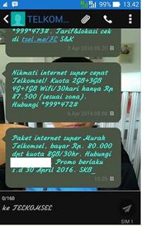 Paket Telkomsel 50ribu 8gb Murah Terbaru