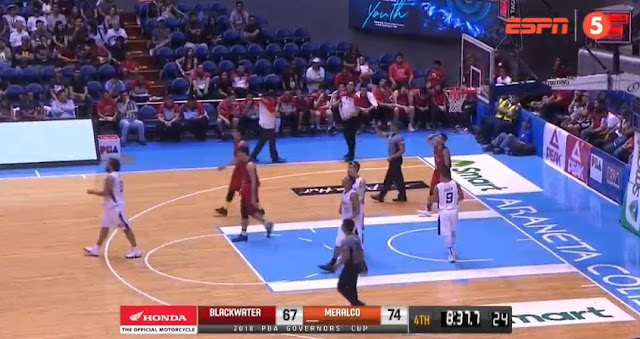 Video Playlist: Blackwater vs Meralco game replay 2018 PBA Governors' Cup