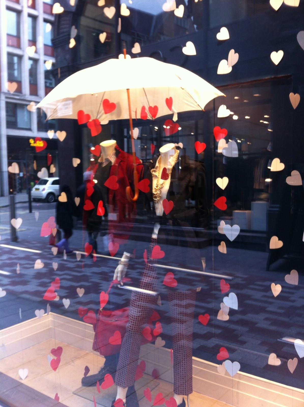 Marketing Monday Romantic Banana Republic Window Display