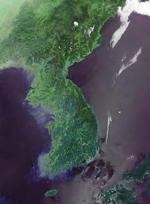 republik di serpihan selatan Semenanjung Korea Sejarah Fisiografi Korea Selatan