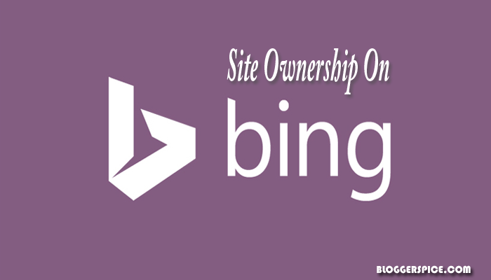 site ownership on Bing
