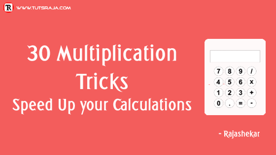 30 Multiplication Tricks