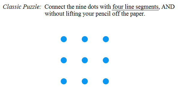 Number Names Worksheets connect the dots in 4 lines : Math Guy's weekly comic and puzzles: July 2015: 4th of July ...