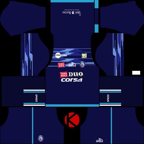 86f9b58eaad Arema FC Kits 2017 2018 - Dream League Soccer 2017 - Kuchalana
