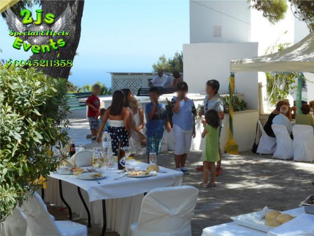 ΒΑΦΤΙΣΗ DJ ΣΥΡΟΣ SYROS2JS EVENTS