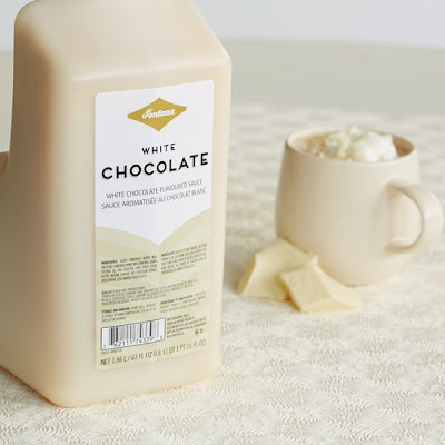 starbucks white chocolate sauce calories
