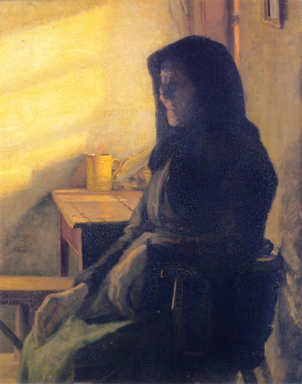 A Blind Woman In Her Room (1883), Anna Ancher