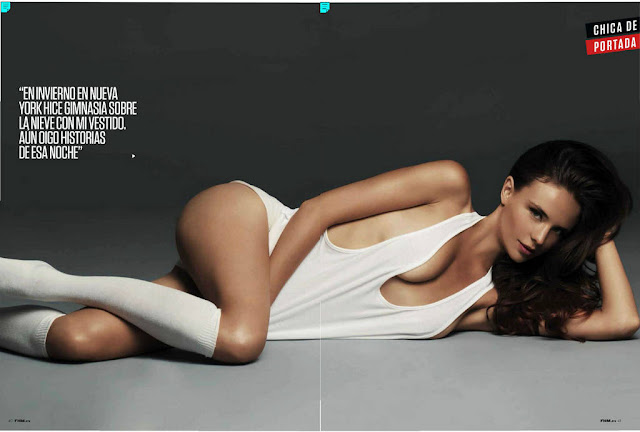 Kira Dikhtyar for FHM Spain October 2012