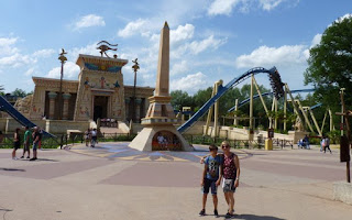 Egipto según el Parque Astérix, París.