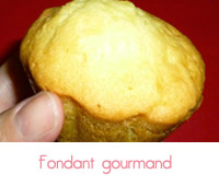 fondant gourmand