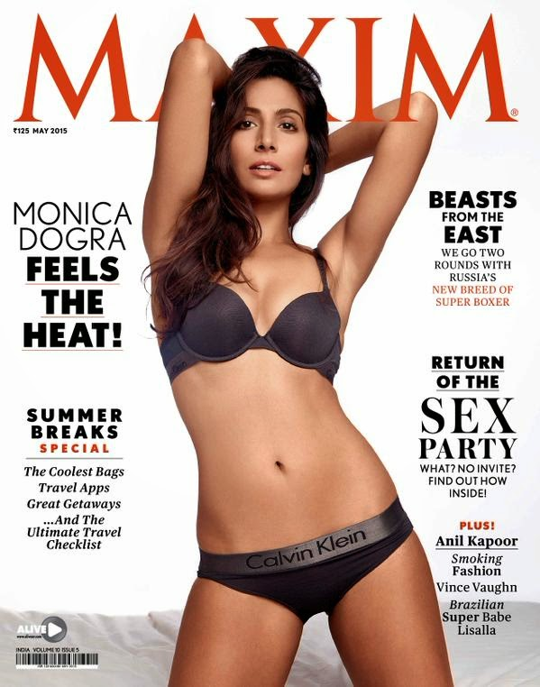 Monica Dogra Hot Bikini Photoshoot for Maxim India May 2015