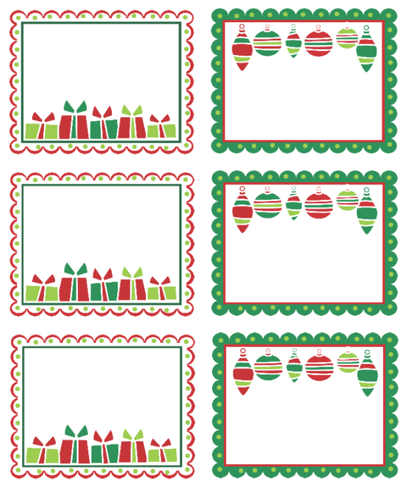 Search Results For Printable Christmas Labels Avery 5160