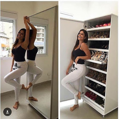 modern shoes storage cabinet design ideas 2019