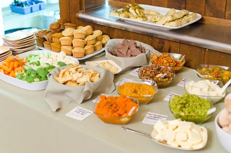 Vegetalion: Homemade Vegan Wedding Food