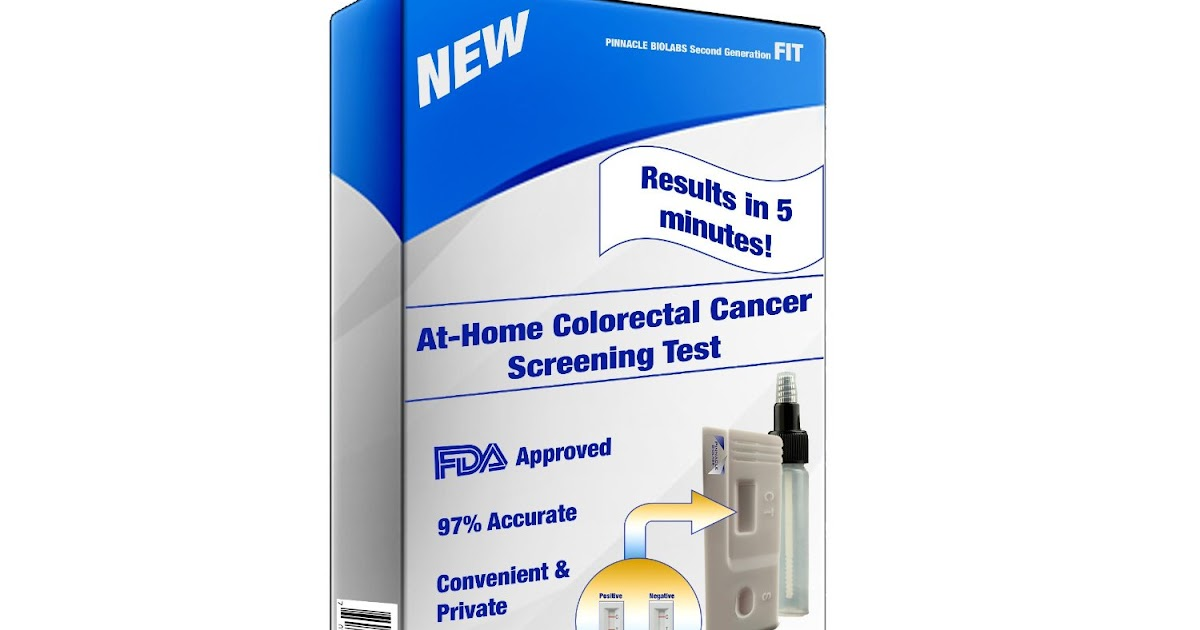 Cancer Second Generation Fit Fecal Immunochemical Test
