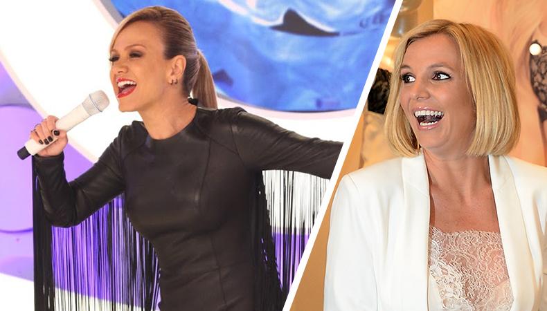 """Eliana está a todo vapor em ensaio de """"Circus"""" de Britney Spears!"""