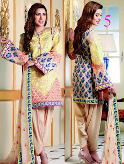 Nomi ansari embroidered chiffon collection by shariq
