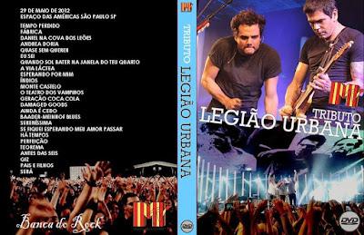 Tributo à Legião Urbana MTV Ao Vivo WEB-DL 720p DVD Capa