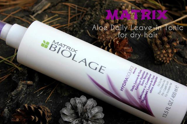 Отзыв: Ежедневный несмываемый тоник (для сухих волос) – MATRIX Biolage HydraSource Daily Leave-In Tonic (For Dry Hair).
