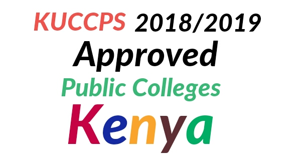 KUCCPS application colleges