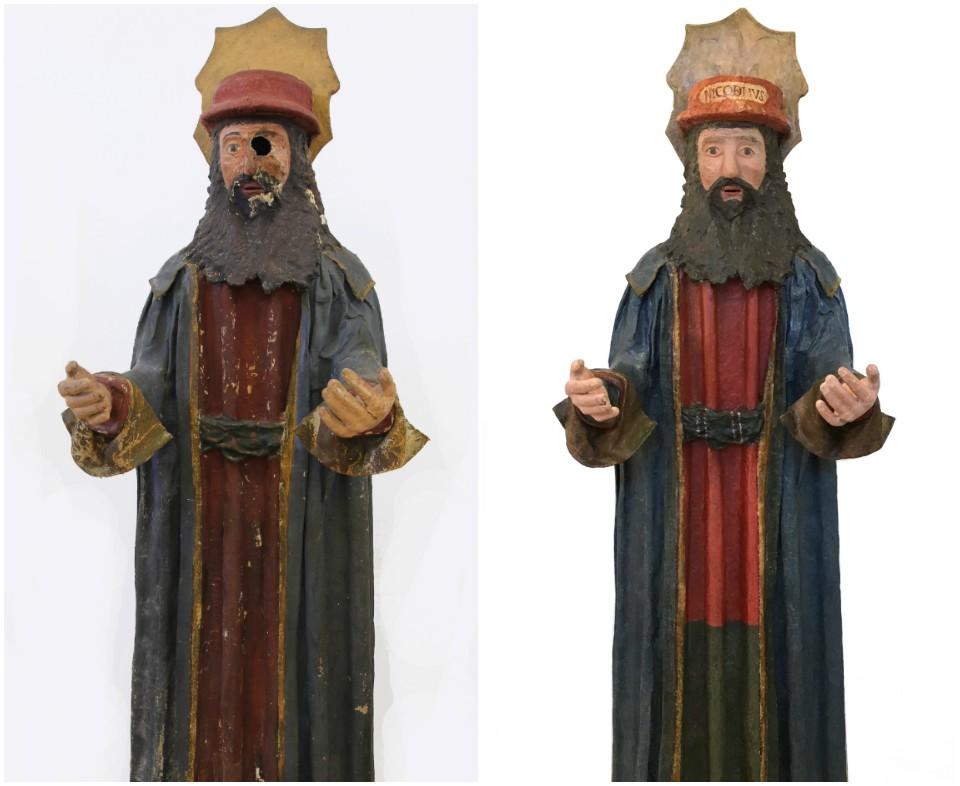 Antes y después de la intervención a Nicodemus