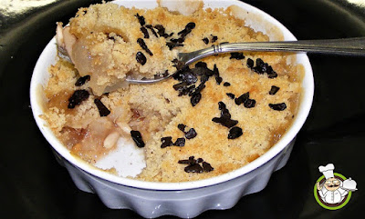 Crumble alle pere.