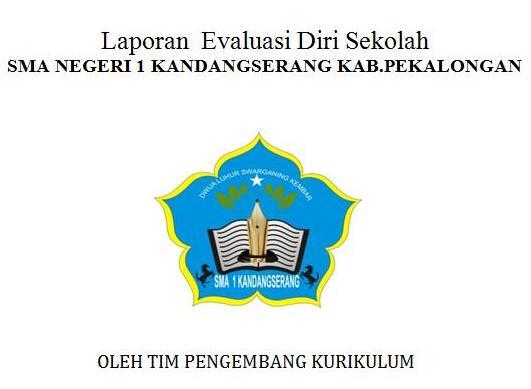 File Evaluasi Diri Sekolah Sma 1 Kandangserang Tahun 2015 Www Harrywidhiarto Com