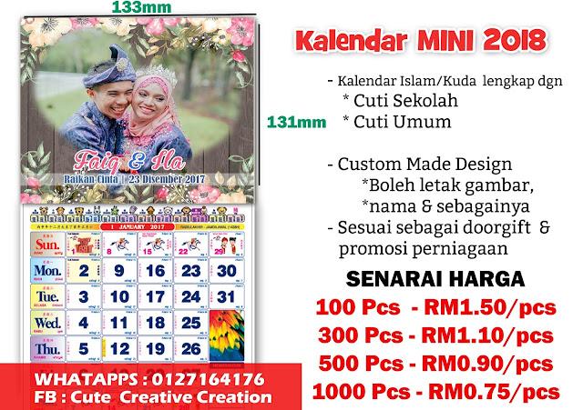 cetak kalendar murah