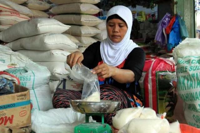 harga gula pasir naik jelang idul fitri