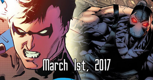 Looking Forward: March 1st, 2017